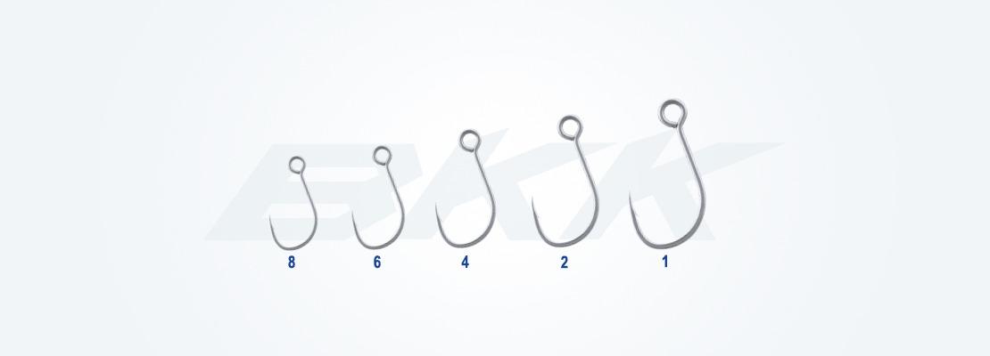Freshwater hook, light lure single hook, trout hook,small predators hook, perch hook, bkk hook