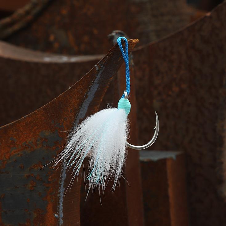 Heavy jigging assist hook, saltwater game fishing hook, tuna hook, amberjack hook, bkk hook