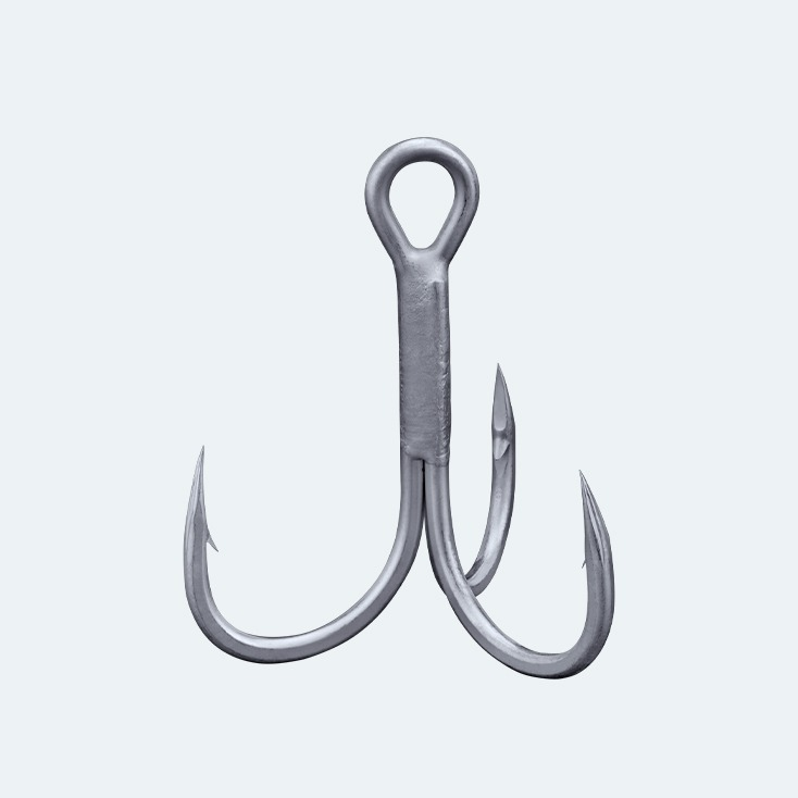 Light medium wire treble hook, lure fishing for fresh hook, salt water hook, medium and small predators hook, bkk hook