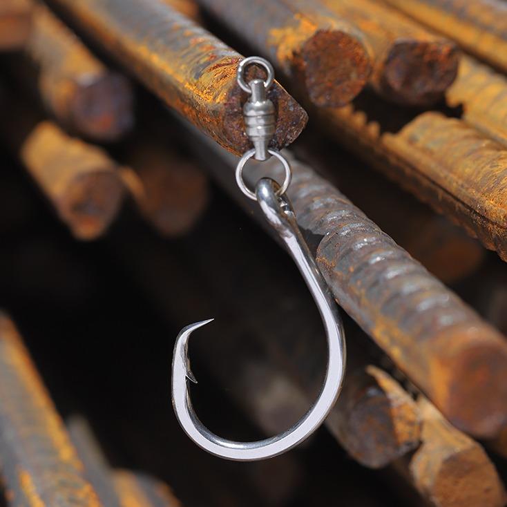 Salt water hook, live and dead bait circle hook, tuna drifting fishing hook, bkk hook